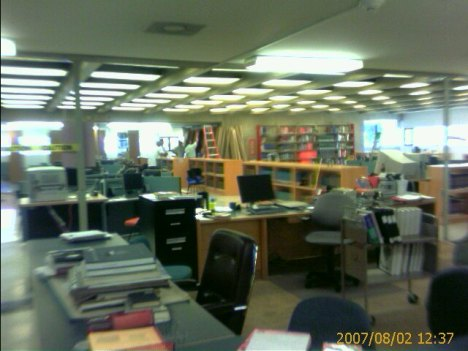 CSU-Pueblo Library 2nd Floor